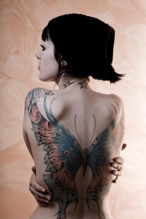 tattoo-back-butterfly